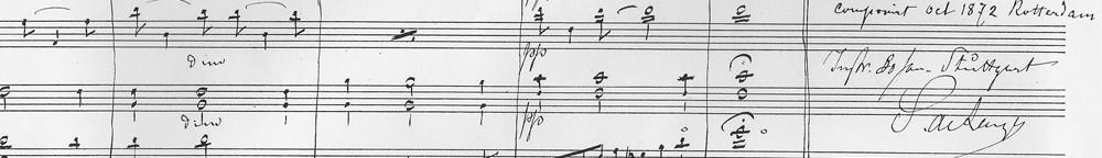 manuscript met handtekening Samuel_klein